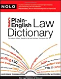 Nolos Plain-English Law Dictionary