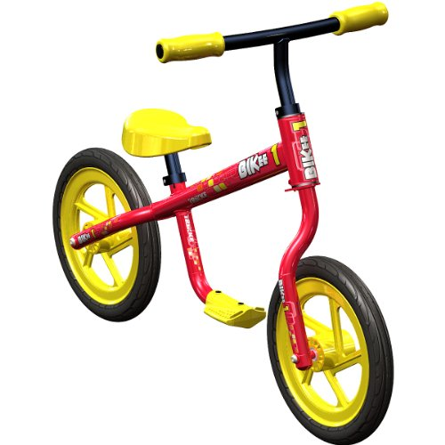 Trikke Bikee Balance Bike (Red/Yellow)