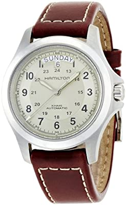 Hamilton Khaki Field King Automatic Beige Dial Mens Watch H64455523