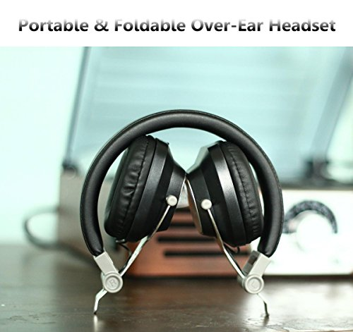 Wireless headphones exercise over ear - headphones over ear with mic