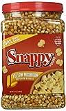 Snappy Popcorn 4 Pounder Yellow Mushroom Popcorn Jar