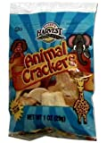 Bakers Harvest Animal Crackers, 1-Ounce Packages (Pack of 100)
