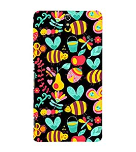 EPICCASE honey bee Mobile Back Case Cover For Sony Xperia C5 Ultra Dual (Designer Case)
