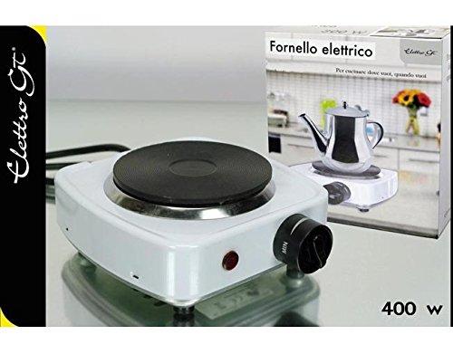PIASTRA FORNELLO CUCINA FORNETTO ELETTRICO REGOLABILE 110 MM 400 WATT FORNELLINO