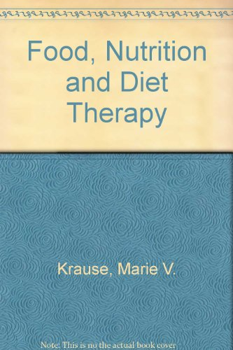 Food, Nutrition and Diet Therapy