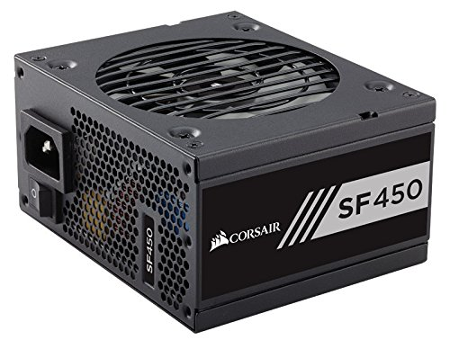 Corsair SF Series, SF450, SFX Form Factor, 450 Watt (450W), Fully Modular Power Supply, 80+ Gold Certified, 7 Year Warranty (Corsair Power Supply 450 compare prices)