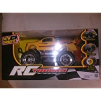 New Bright R/CTrucks Yellow Ford F-150 Scale 1:16 Measures 12 Inches Long