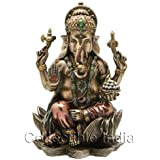 Collectible India Ganesha Ganesh Ganpati Statue- Home Decor Gift