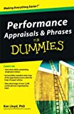 img - for Performance Appraisals and Phrases For Dummies book / textbook / text book