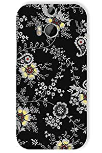 IndiaRangDe Case For HTC One M8 Printed Back Cover