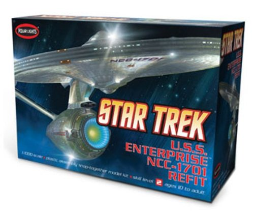 1 1000 USS Enterprise NCC-1701A