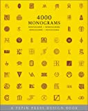 4000 Monograms (Pepin Press Design Books)