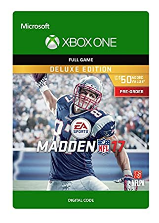 Madden NFL 17 Deluxe Edition - Pre-Load - Xbox One Digital Code