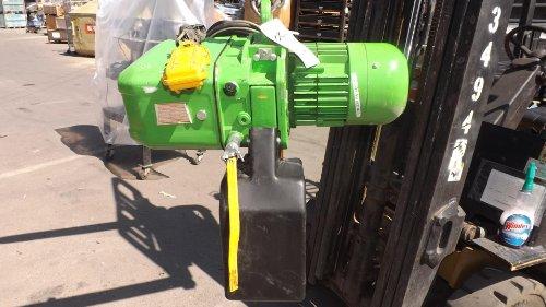 R. Stahl Fordertechnik T 405 -12/3.02/1 1 Ton Electric Chain Hoist T30457