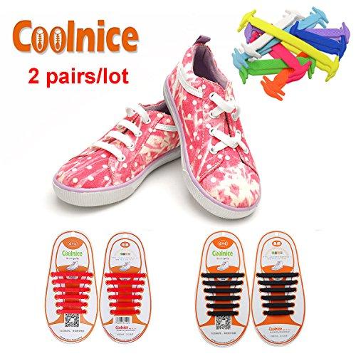 coolnicer-2-pares-para-ninos-cordones-elasticos-planos-zapatillas-de-silicona-impermeable-ambientalm