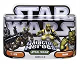 Hasbro 85419 Star Wars Galactic Heroes Mini-Figure 2 Pack - 4-LOM and Bossk
