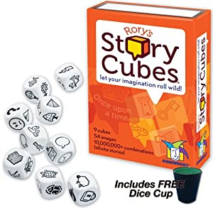 Rory's Story Cubes with FREE Dice Cup