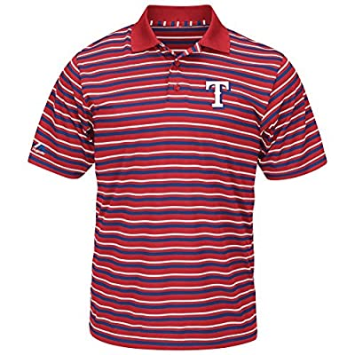 Men's Synthetic Texas Rangers Polo Shirt
