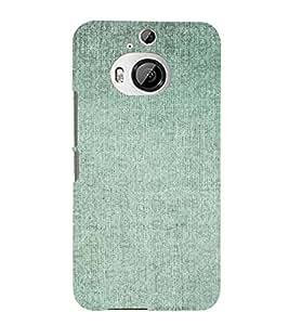 PrintVisa Faded Green Pattern 3D Hard Polycarbonate Designer Back Case Cover for HTC ONE M9+
