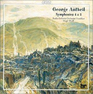 アンタイル:交響曲 第4番「1942年」/同第5番「歓喜」 他