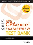img - for Wiley CPAexcel Exam Review 2015 Test Bank: Regulation book / textbook / text book