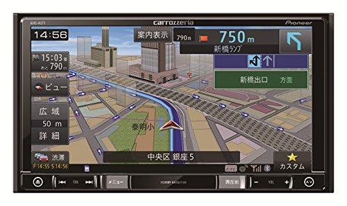 Pioneer 7V型ワイドVGA地上デジタルTV/DVD-V/CD/Bluetooth/SD/チューナー・DSP AV一体型メモリーナビゲーション AVIC-RZ77