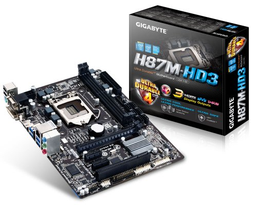 Gigabyte H87M-HD3 Motherboard (Socket 1150 Black Friday & Cyber Monday 2014