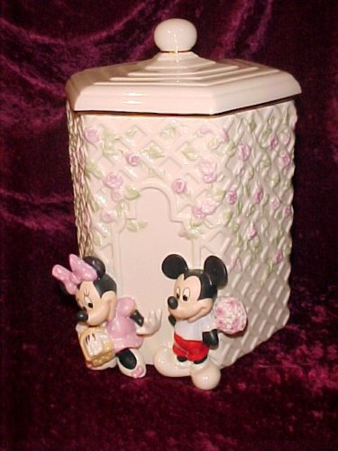 Lenox Mickey and Minnie Cookie Jar