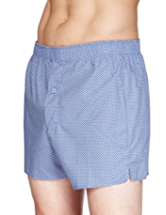 3 Pack Pure Cotton Spotted Boxers