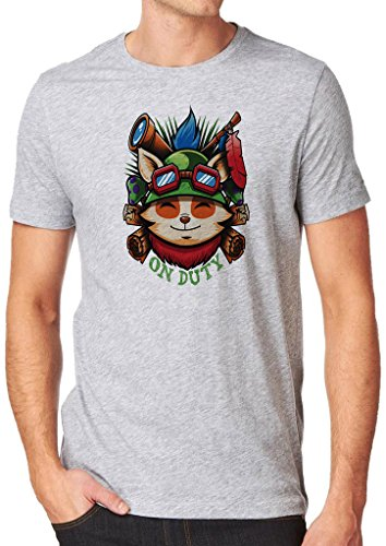 League of Legends Captain Teemo on Duty Shirt Custom Made T-shirt (L)