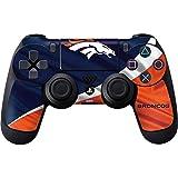 Skinit NFL Denver Broncos PS4 Controller Skin - Denver Broncos Design - Ultra Thin, Lightweight Vinyl Decal Protection