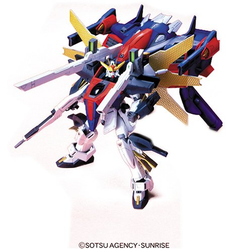 Bandai Hobby #07 1/100 Model X Series G Falcon Unit Double X High Grade Gundam Action Figure (G Gundam 1 100 compare prices)