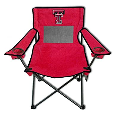 Rivalry Distributing RIV-RV400-1100 Texas Tech Red Raiders NCAA Ultimate Adult Monster Mesh Tailgate Chair