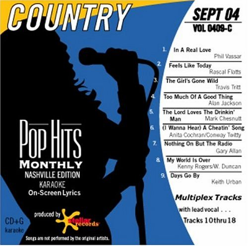 Various Artists - Pop Hits Monthly  COUNTRY Sept 2004 - Zortam Music