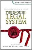 The English Legal System (Key Facts) (0340801794) by Martin, Jacqueline