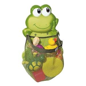 """BABY-WALZ Aufräumnetz """"Frosch"""" Badezubehör, grün"""