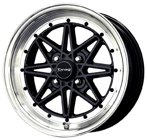 Drag DR-20 Gloss Black Machined Lip - 15 x 7