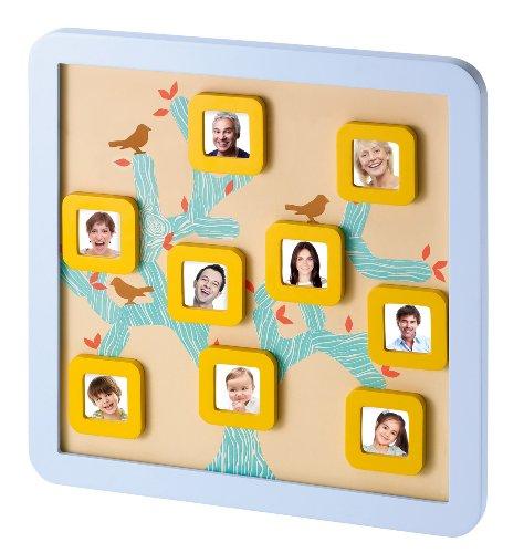 Baby Art - 34120104 - Family Tree Frame - Cornice da appendere nella cameretta, da personalizzare con portafoto calamitati