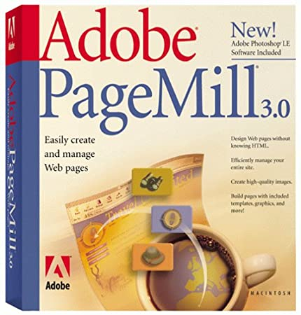Adobe PageMill 3.0 for Macintosh