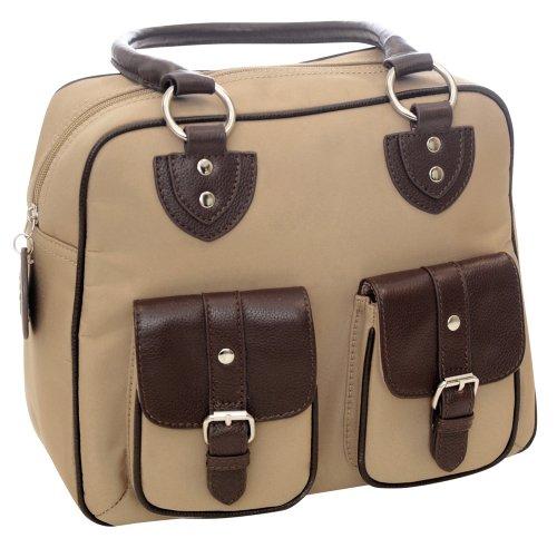 jille-designs-nougat-nylon-and-leather-trim-everywear-gadget-bag-340962-brown