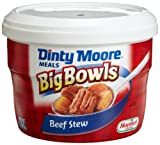 Dinty Moore Big Bowls Beef Stew, 15-Ounce Microwavable Bowls (Pack of 8)