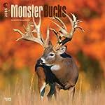 Monster Bucks 2016 Square 12x12 Wall...