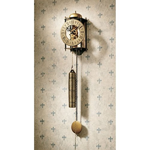 Design Toscano YP351 The Templeton Regulator Wall Clock