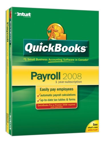 QuickBooks Payroll 2008 [Old Version]