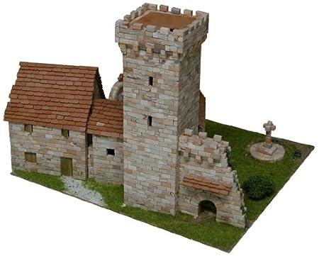 Maquette en céramique - Tour médiévale
