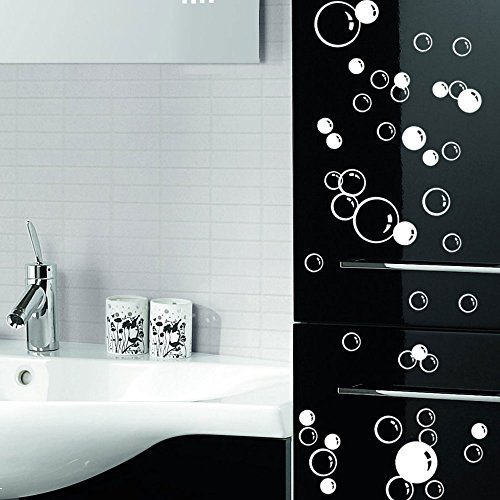 88-waterproof-floating-bubble-loose-stickers-choose-from-20-colours-bathroom-tile-window-wall-art-ch