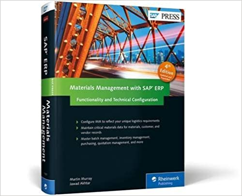 Materials Management With SAP ERP: Functionality And Technical Configuration (SAP MM)