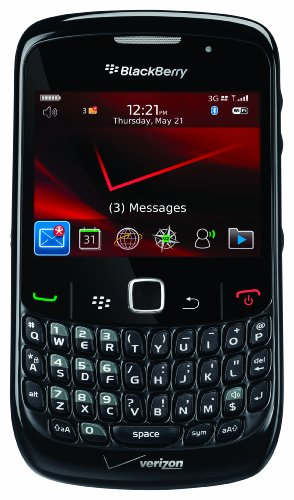 BlackBerry Curve 8530 Phone, Black (Verizon Wireless)