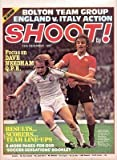 SHOOT cover 10/12/77 Leeds Utd Manchester United old football magazine picture