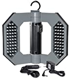 Cooper Lighting LED130 Might-D-Light 80-LED Cordless Rechargeable Folding Worklight